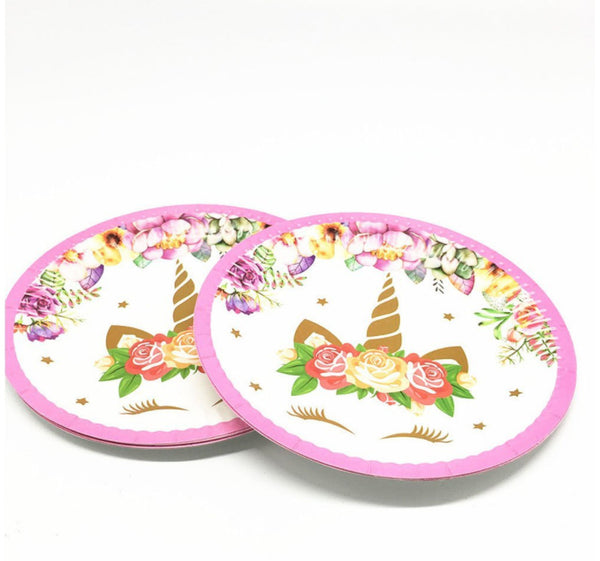 Paper plates Unicorn themed for sale online in Dubai