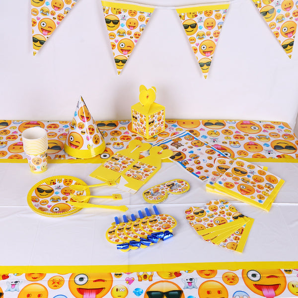 Emoji party supplies for sale online in Dubai