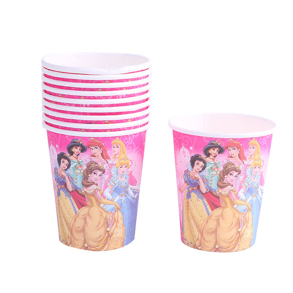 Paper cups  Princesses themed for sale online in Dubai