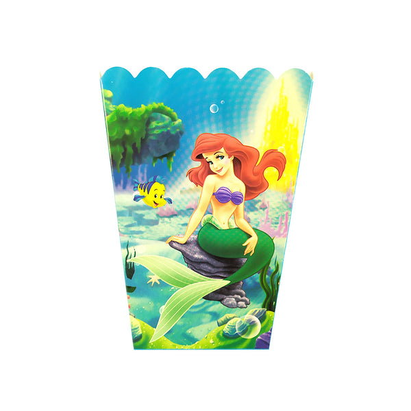 Popcorn boxes Mermaid themed for sale online in Dubai