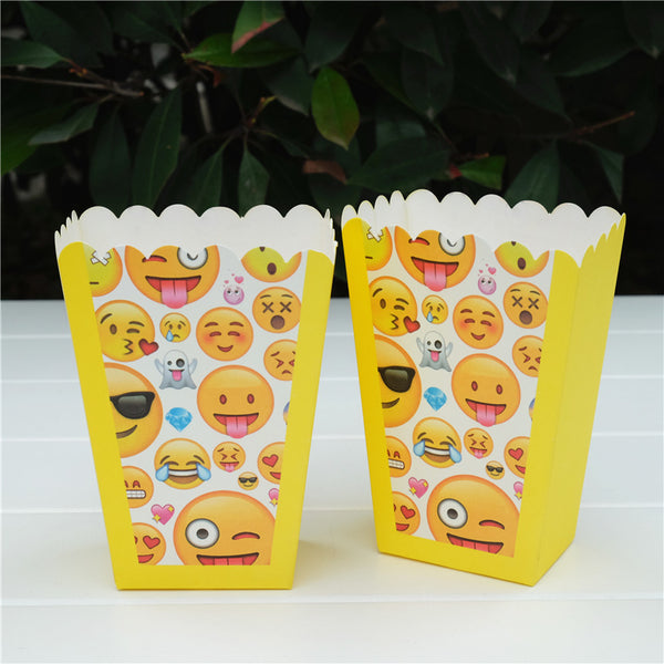 Popcorn boxes Emoji themed for sale online in Dubai