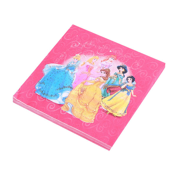 Tissue Napkins  Princesses themed for sale online in Dubai