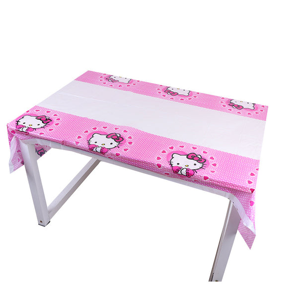 Table cover hello kitty themed for sale online in Dubai