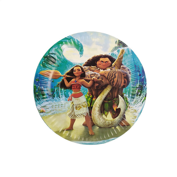 Paper plates Moana themed for sale online in Dubai