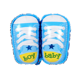 Huge Baby Boy Shoes - 30in - PartyMonster.ae