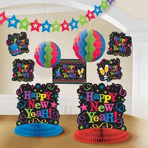 New Years Decorations Kit - PartyMonster.ae