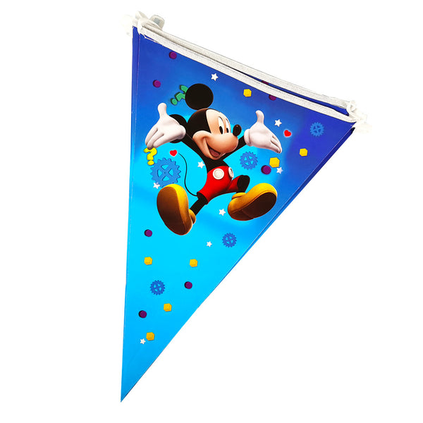 Flag banner bunting Mickey Mouse themed for sale online in Dubai