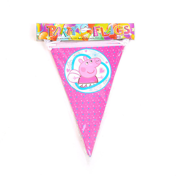 Flag banner bunting Peppa Pig themed for sale online in Dubai