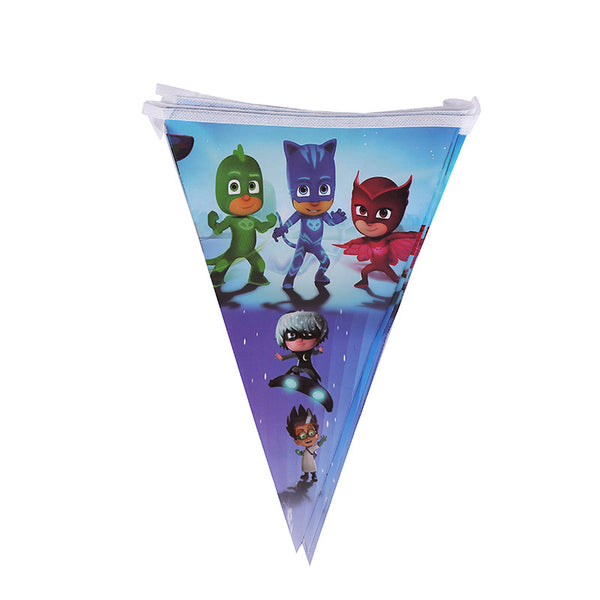 Flag bunting banner PJ Masks themed for sale online in Dubai
