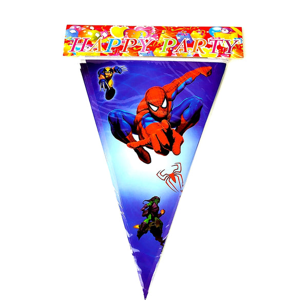 Flag banner bunting Spiderman themed for sale online in Dubai
