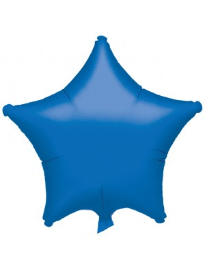 Blue Color Star Shaped Balloon - 18