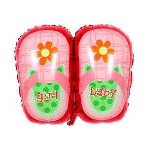 Huge Baby Girl Shoes - 30in - PartyMonster.ae