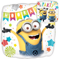 Minion Party Balloon 45 cms - PartyMonster.ae