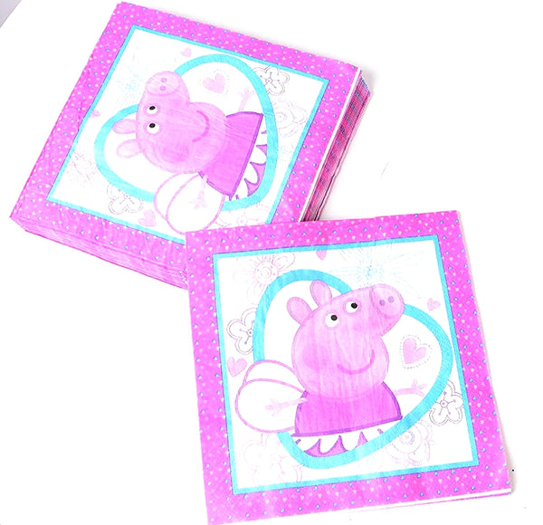 Tissue Napkins Peppa Pig themed for sale online in Dubai