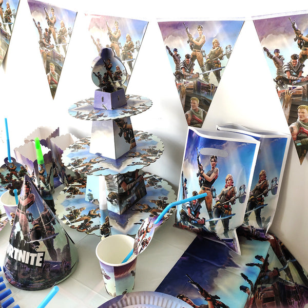 Fortnite themed party supplies delivery in Dubai