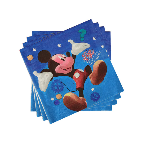 Tissue Napkins Mickey Mouse themed for sale online in Dubai