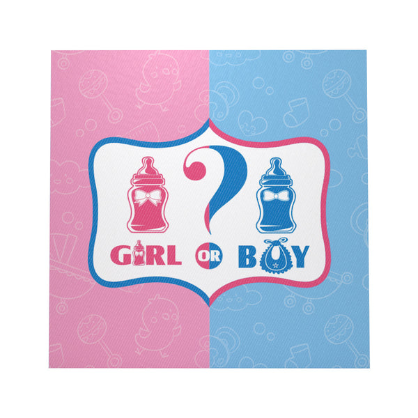 Tissue napkins gender reveal theme for sale online in Dubai