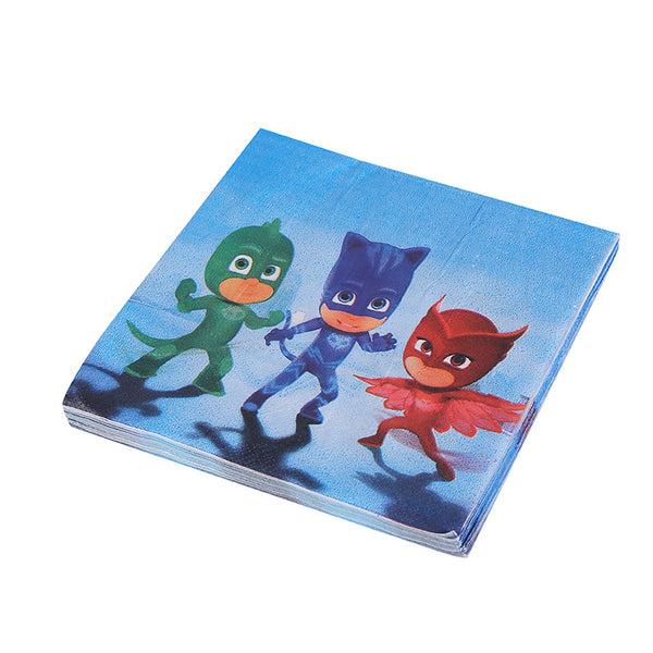 Tissue Napkins PJ Masks themed for sale online in Dubai