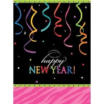 New Year Plastic Table Cover - PartyMonster.ae