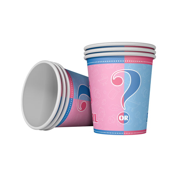 Paper Cups gender reveal theme for sale online in Dubai