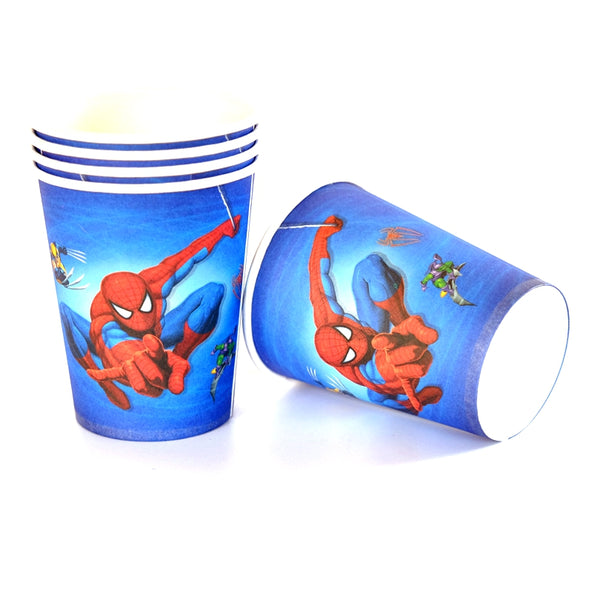 Paper Cups Spiderman themed for sale online in Dubai