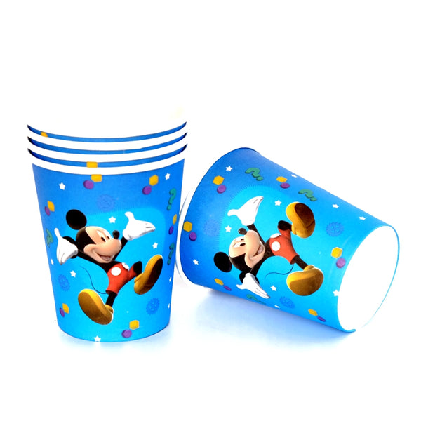 Paper cups Mickey Mouse themed for sale online in Dubai