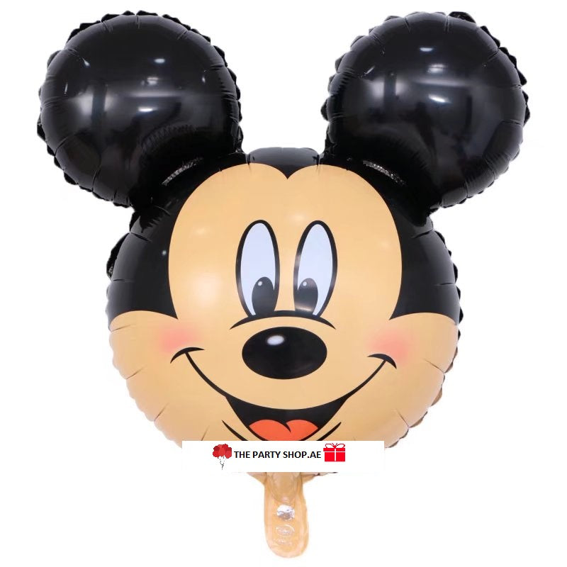 Mickey Mouse Face Balloon- 31in - PartyMonster.ae