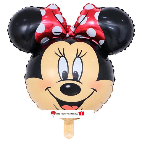Minnie Mouse Face Balloon- 31in - PartyMonster.ae