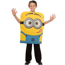 Minion Costume for Child - PartyMonster.ae