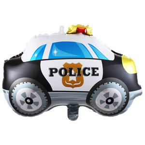 police car foil balloon for sale online in Dubai