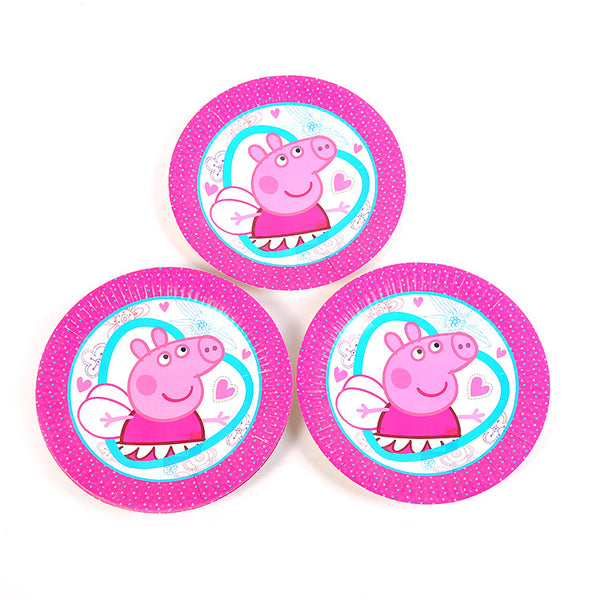 Paper plates Peppa Pig themed for sale online in Dubai