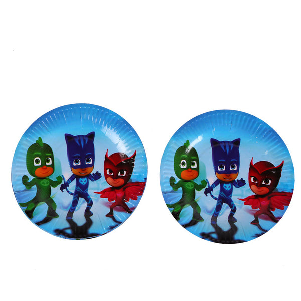 Paper plates PJ Masks themed for sale online in Dubai