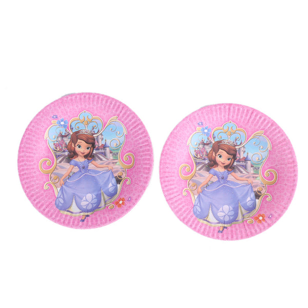 Paper plates  Sophia the First themed for sale online in Dubai