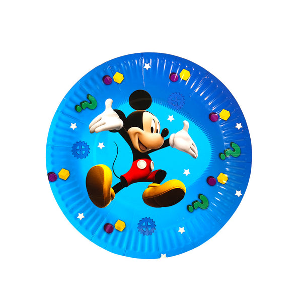 Paper plates Mickey Mouse themed for sale online in Dubai