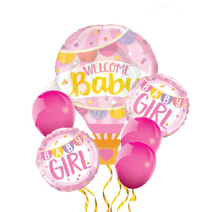welcome baby girl hot air balloon for sale online in Dubai