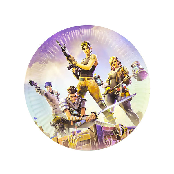 Paper plates Fortnite themed for sale in Dubai