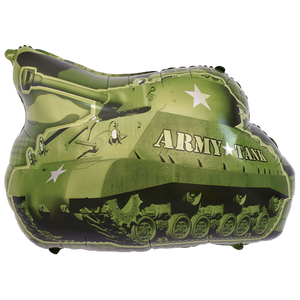 army tank foil balloon for sale online in Dubai