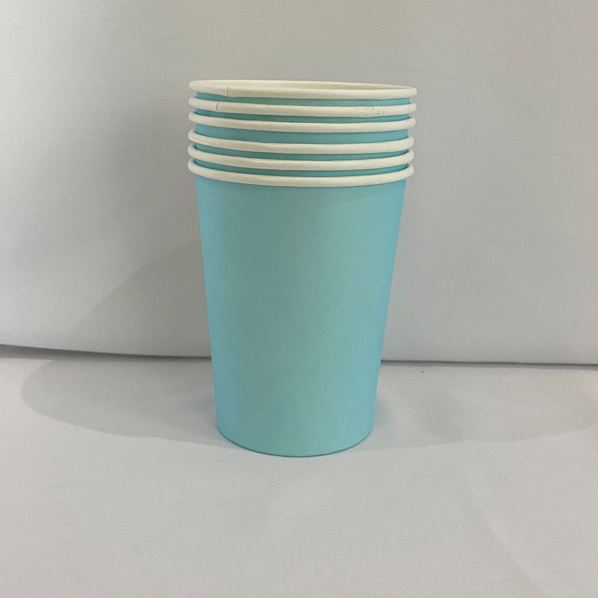 Baby Blue Paper Cups for sale in Dubai