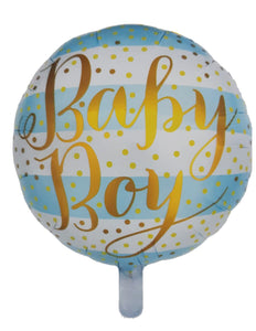 Baby Boy Foil Balloon - 18 inches for sale online in Dubai
