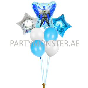 Batman birthday balloons bouquet - PartyMonster.ae
