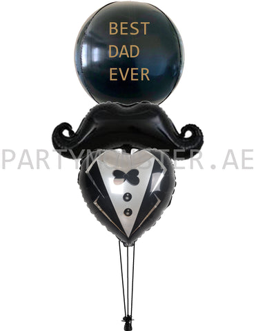 best dad ever balloons delivery for sale online in Dubai