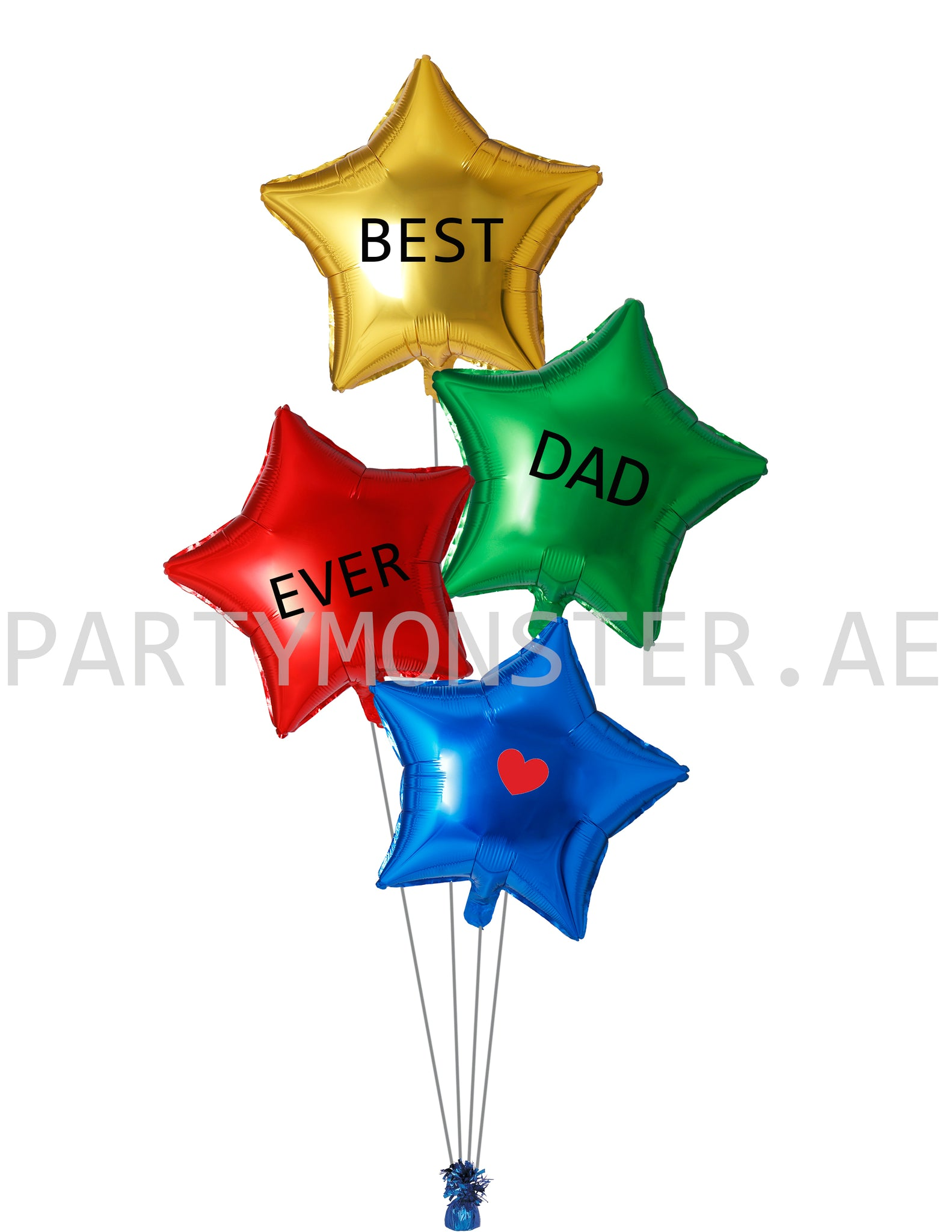 best dad ever balloons for sale online in Dubai