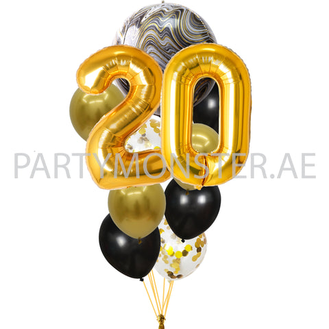 elegant balloon bouquets for delivery in Dubai