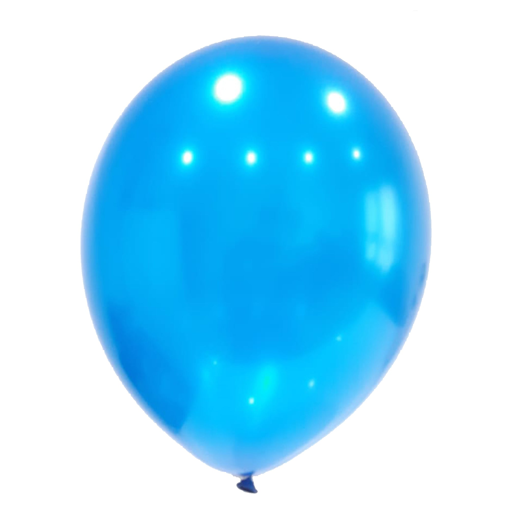 Caribbean blue latex balloon for sale online delivery in Dubai