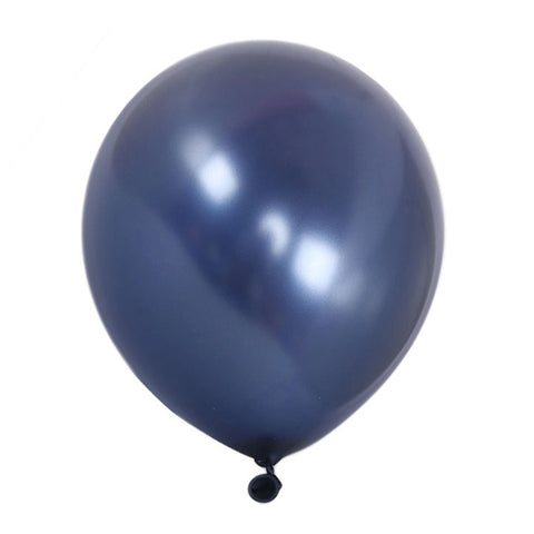 Navy blue latex balloon for sale online delivery in Dubai