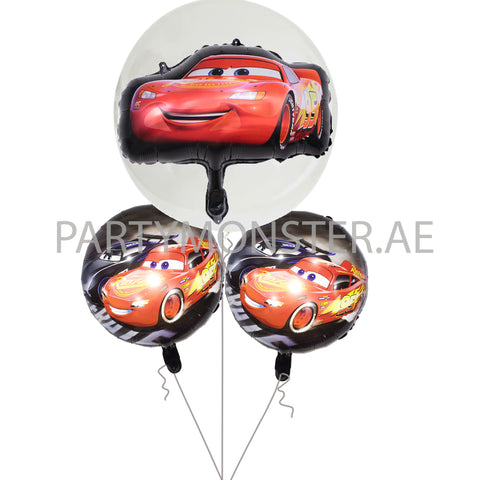 Cars themed balloons bouquet - PartyMonster.ae