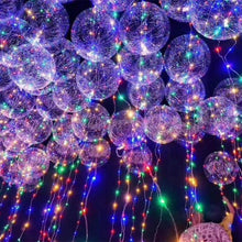 LED Multicolor Balloon - Round - PartyMonster.ae