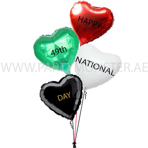 49th UAE National Day balloons delivery in Dubai