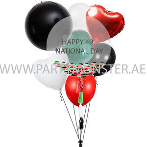 UAE National day balloons bouquet for sale online in Dubai