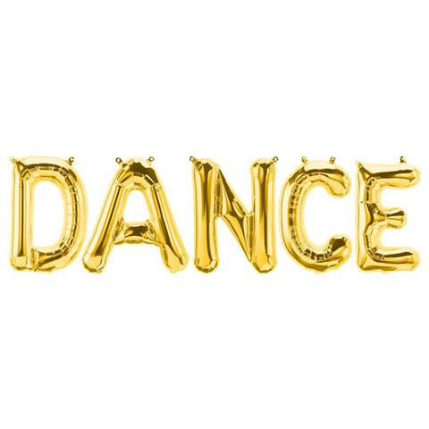 Dance Balloon Bunting Banner Set - PartyMonster.ae